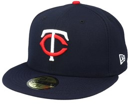 Minnesota Twins Authentic On-Field 59Fifty Navy Fitted - New Era