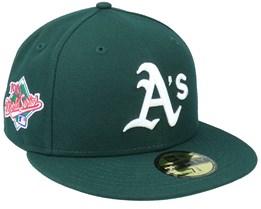 Oakland Athletics Retro Sports 59Fifty OTC Green Fitted - New Era