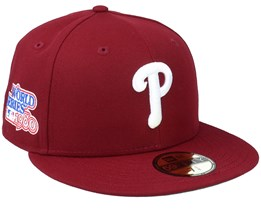 Philadelphia Phillies Retro Sports 59Fifty Burgundy Fitted - New Era