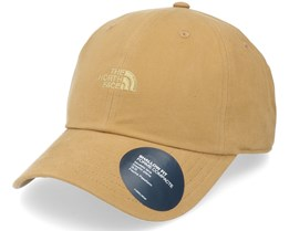 Washed Norm Hat Tan Dad Cap - The North Face