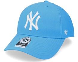New York Yankees Mvp Glacier Blue Adjustable - 47 Brand