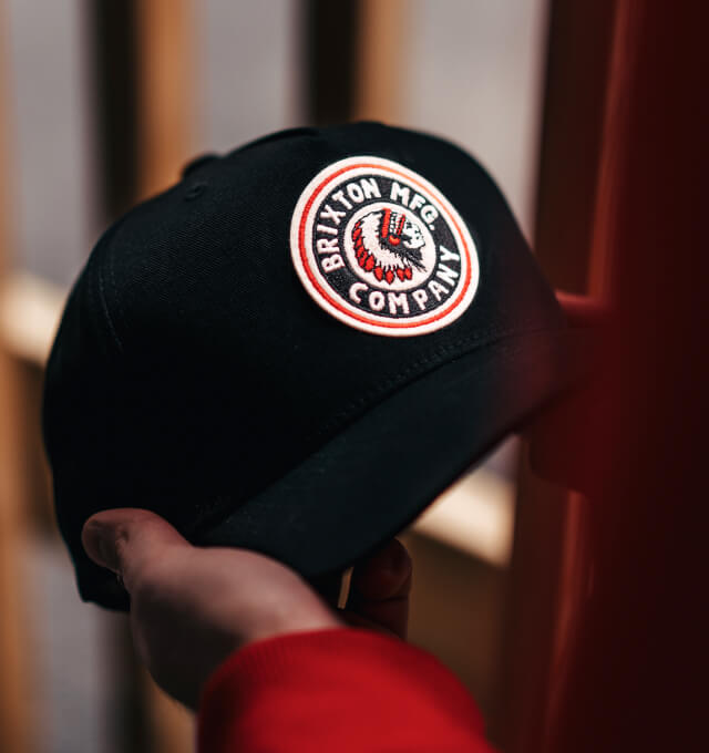 Hatstore Exclusive x Brixton Rival Curved & High Crown