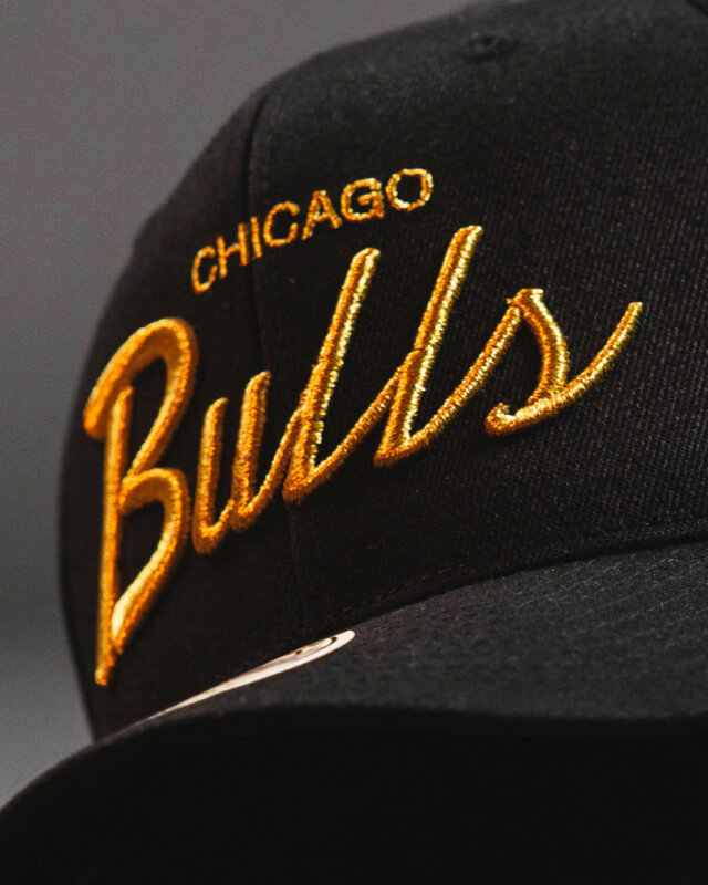 Hatstore Exclusive x NBA Gold Script