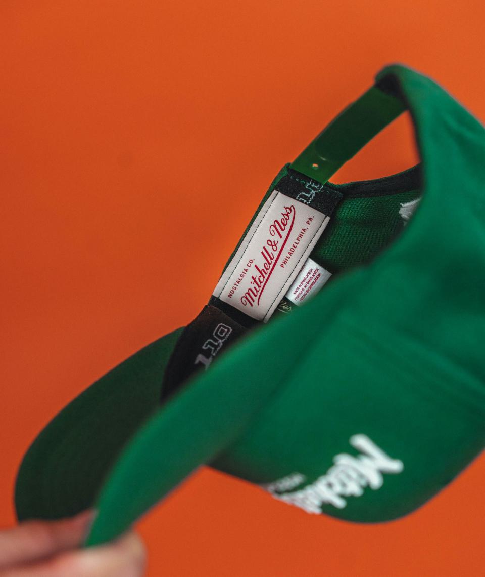 Hatstore Exclusive x Pinscript Green & White