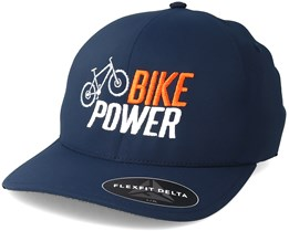 Bike Power x Delta Navy Flexfit - Bike Souls