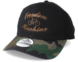 Freedom Machine Black/Camo Brown Adjustable - Bike Souls
