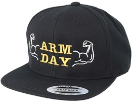 Arm Day Black Snapback - Berzerk