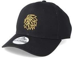 Head Logo Black/Gold Adjustable - Lions