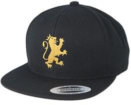 Standing Logo Black/Gold Snapback - Lions