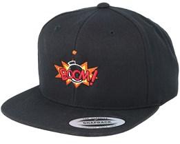 Boom Logo Black Snapback - BOOM
