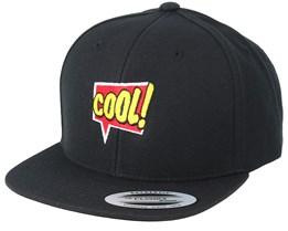 Kids Cool Talk Black Kids Snapback - BOOM