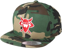 Battle Time Camo Snapback - Vikings