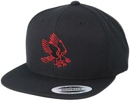 Eagle Red/Black Snapback - Eagle