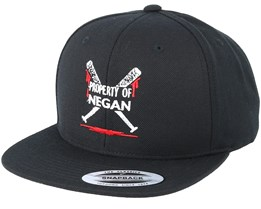 Property Of Negan Black Snapback - Scenes