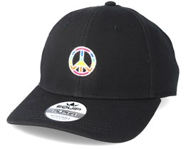 Peace Side Black Adjustable - Pride