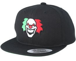 Kids Clown Black Snapback - Kiddo Cap