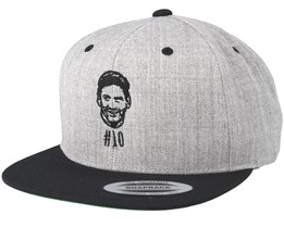 Number Ten Grey/Black Snapback - Forza