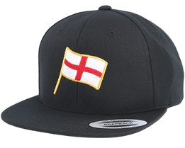 England Flag Black Snapback - Forza