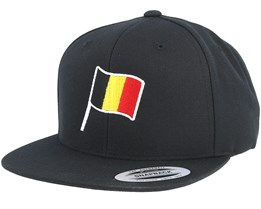 Belgium Flag Black Snapback - Forza