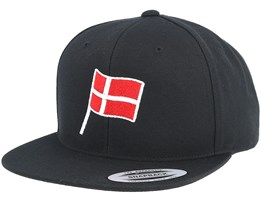 Danish Flag Black Snapback - Forza