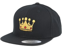 Kids Royal Black Snapback - Kiddo Cap
