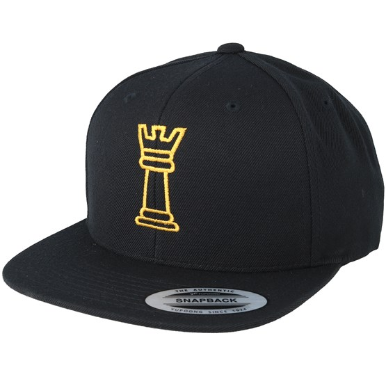 Keps King Chess Black Snapback - Iconic - Svart Snapback