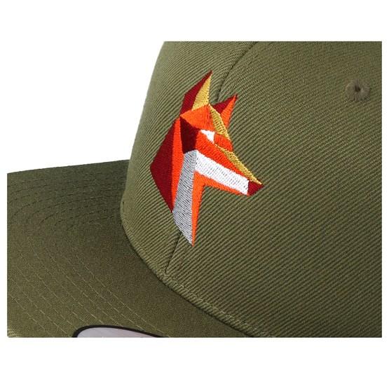 quality design 9bb94 d2575 Paper Fox Green Snapback - Origami cap - Hatstore.co.in