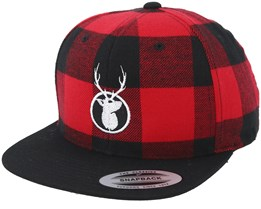 6943862029e Kingdeer Red Black Snapback - Hunter