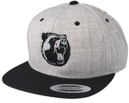 The Roar Grey/Black Snapback - Hunter