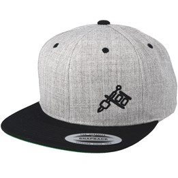 98703b089ec Tattoo Collective Machine Side Logo Heather Grey/Black Snapback - Tattoo  Collective 299 kr