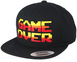 Game Over Black Snapback - Gamerz