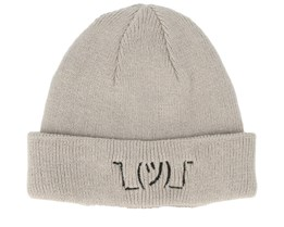 Kids Shrug Infant Grey Beanie - Kiddo Cap