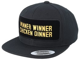 Winner Winner Chicken Dinner BP Black Snapback - Iconic