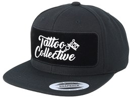Logo BP Black Snapback - Tattoo Collective