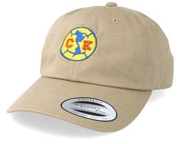 CK Logo Khaki Dad Cap - Iconic