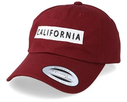 California Maroon Adjustable - Iconic