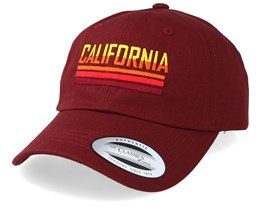 California Sunset Maroon Adjustable - Iconic