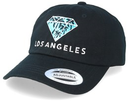 Los Angeles Diamond Black Adjustable - Iconic