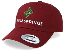 Palm Springs Maroon Adjustable - Iconic