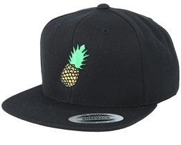 Pineapple Black Snapback - Iconic