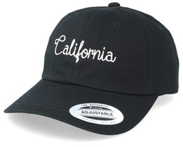 California Handwritten Black Adjustable - Iconic