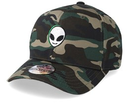 Alien Face Camo Adjustable - Iconic