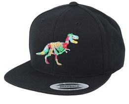 Hawaii T-rex Black Snapback - Iconic