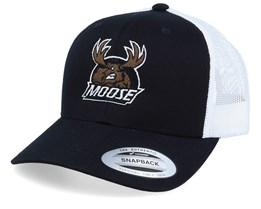 Moose Black/White Trucker - Hunter