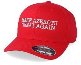 Make Azeroth Great Again Red Flexfit - Iconic