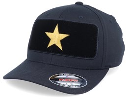 Star Velvet Patched Black Flexfit - Iconic