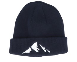 Kids Mountain Infant Black Beanie - Kiddo Cap