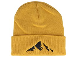 Kids Mountain Mustard Beanie - Kiddo Cap