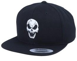 Full Skull Black Snapback - Tattoo Collective
