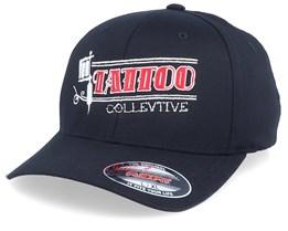 Tattoo Collective Gun Black Flexfit - Tattoo Collective